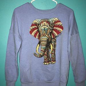 Vintage elephant crewneck